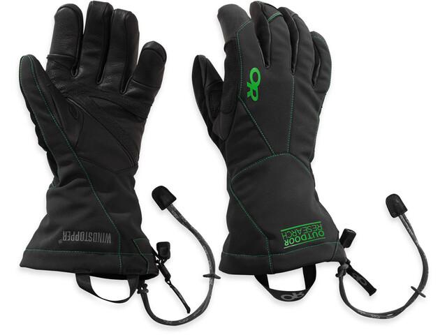 Outdoor Research M's Luminary Sensor Gloves 67C-Black / Flash